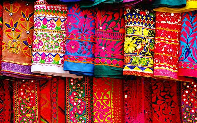 Leather Embroidery in Rajasthan