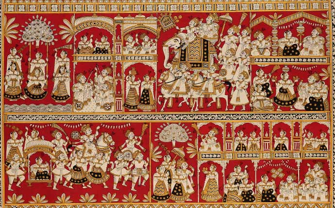 Rajasthan's Travelling Temples: Phad Paintings