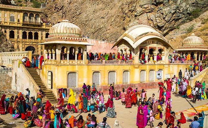 Galtaji Temple, Jaipur | Monkey Temple in Jaipur - Travel-Rajasthan